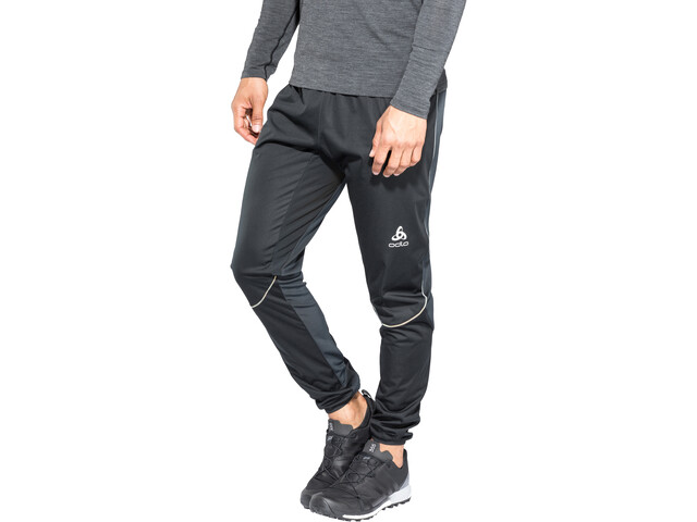 Odlo Zeroweight Windproof Warm Broek Heren, black